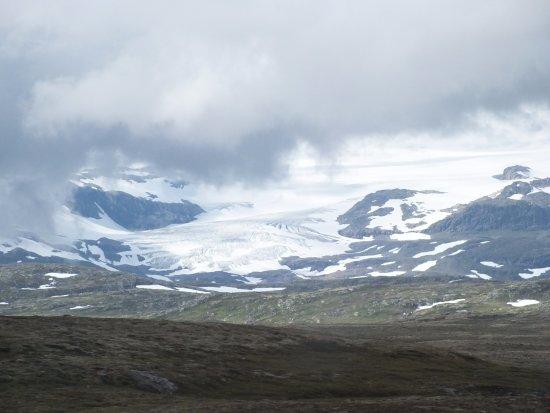 Hol Municipality, Norway: ледник