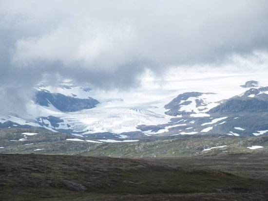 Hol, Norge: ледник