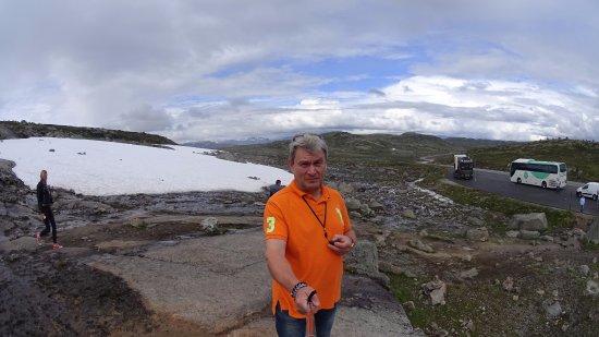 Hol Municipality, Norway: снег