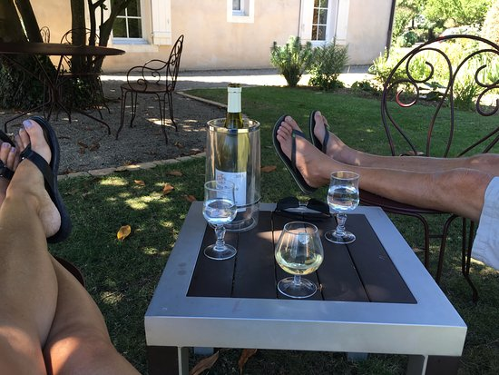 Hotel le Clos : The perfect spot to relax and enjoy wonderful wine!