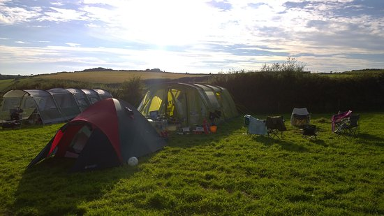 Bratton Fleming, UK: Our holiday base
