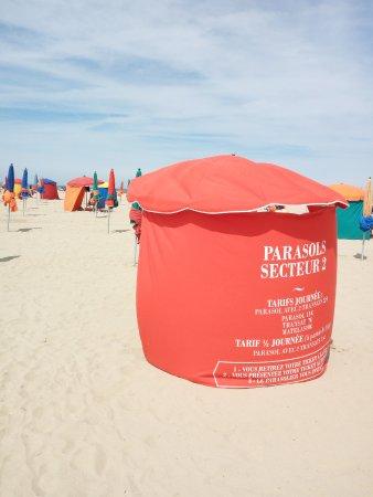Deauville, Prancis: I parasols