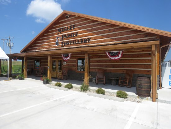 Sparta, KY: Front of Neeley Family Distillery - August 2017