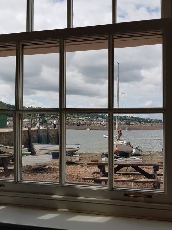 Teignmouth, UK: Great window seat