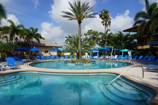 PGA National Resort & Spa: Waters of the World pools at The Spa