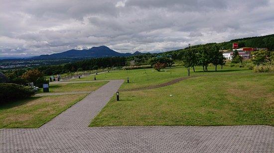 Date, Japan: 有珠山と昭和新山