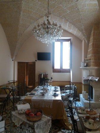 Martano, İtalya: Sala colazioni