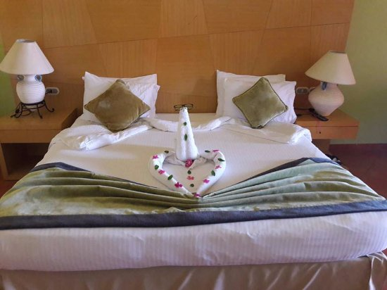 Cancun Sokhna Resort: housekeeper used my glasses to do this :D