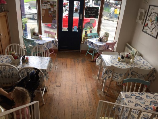 My Affagato Coffee With Ice Cream Picture Of The Kitchen Table Cafe Mumbles Tripadvisor