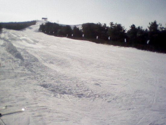 Anshan, China: Looking form the top of the beginner's section towards the advanced slope.