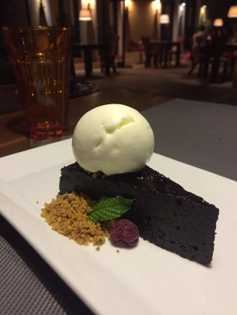 Каливиани, Греция: Torta al cioccolato