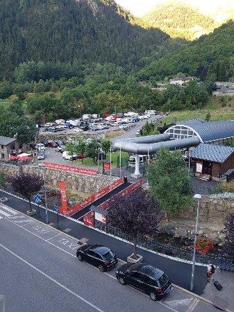 Hotel Montane: La vista desde mi habitación.
