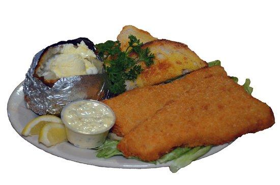 ริชมอนด์, อินเดียน่า: Golden Fried Cod Sandwich