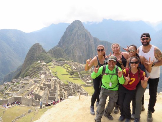 Alpaca Expeditions: Machu Picchu with our guide Amazing Alvin!
