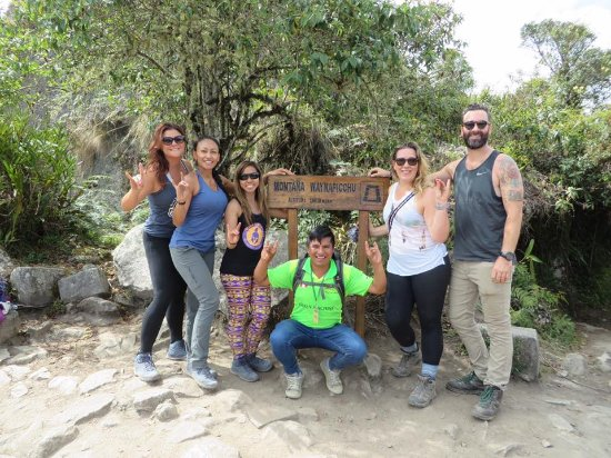 Alpaca Expeditions: Huyana Picchu with our guide Amazing Alvin!