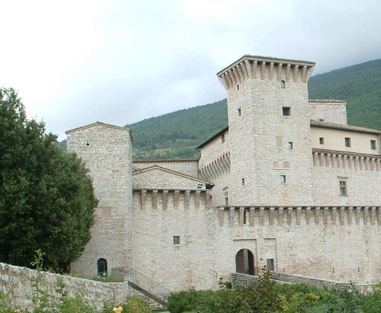 Gualdo Tadino, Italië: La fortezza
