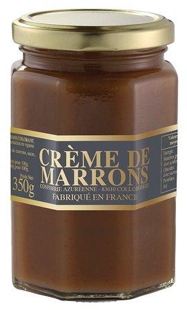 Collobrières, France : Crème de marrons artisanale de la Confiserie Azuréenne!
