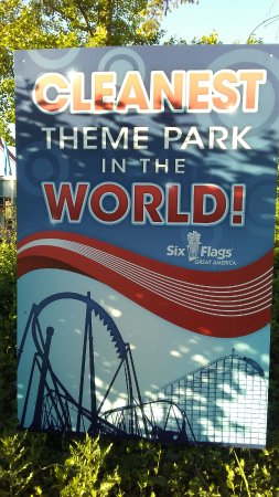 Six Flags Great America: indeed