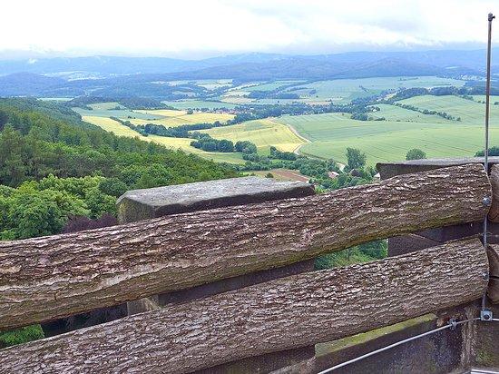 Witzenhausen, Germany: Ausblick vom Turm des Schlosses