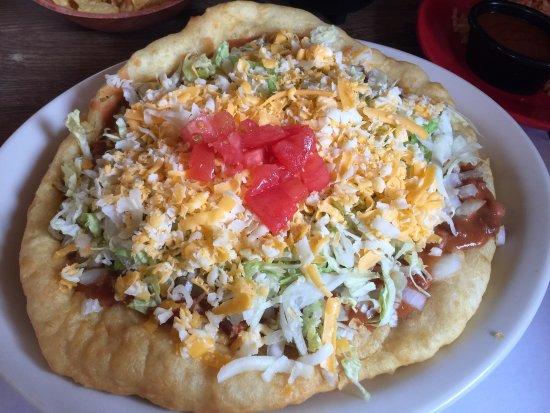 Kayenta, AZ : Navajo Taco