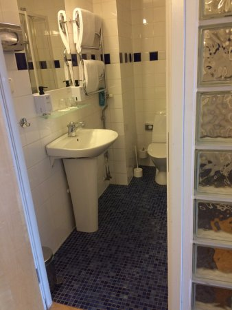 Scandic Foresta: Bathroom