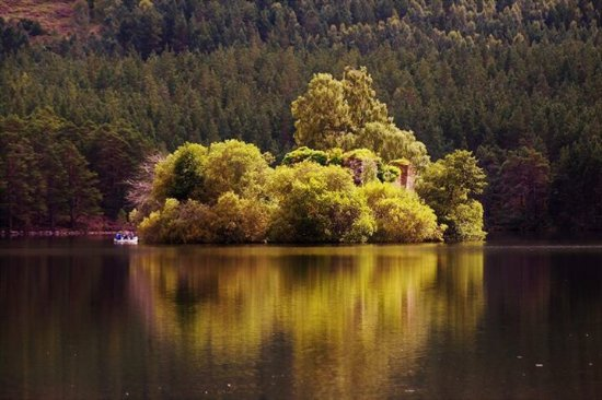 Aviemore, UK: Loch An Eilein, Gerard Westerbeek.