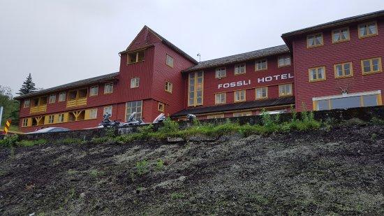 Eidfjord Municipality, Noruega: tipico albergo di montagna