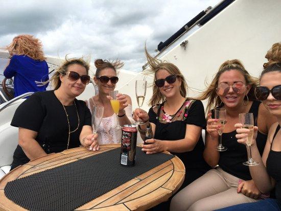 Hythe, UK: Having fun
