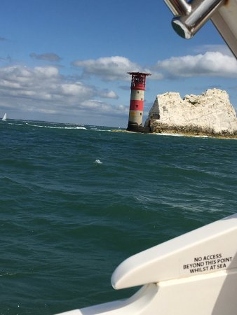 Hythe, UK: Amazing views at the needles