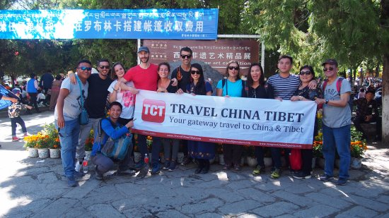 Lhasa, China: Tibet Shaton Festival Tour in Aug 2017