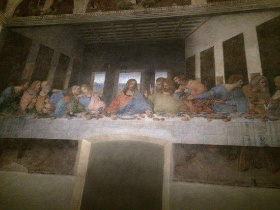 Sainte-Marie-des-Grâces (Santa Maria della Grazie) : The last Supper