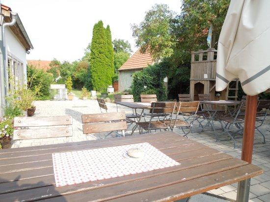 Gunzenhausen, Germany: Der Biergarten