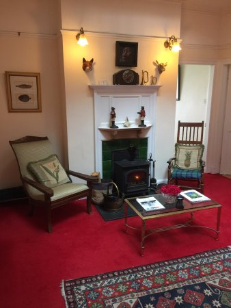 Machrihanish, UK: Main Hall at Dunlossit House