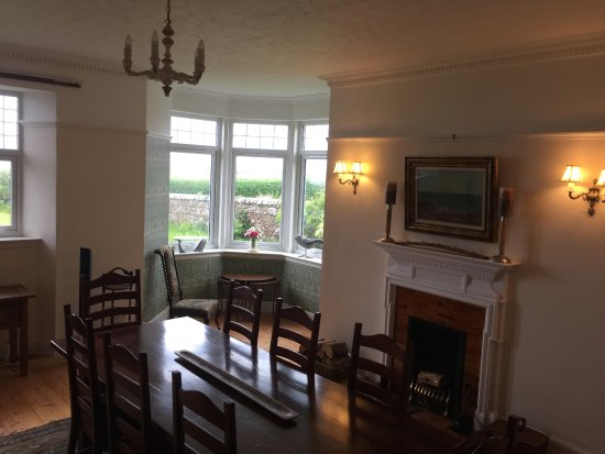 Machrihanish, UK: Breakfast Room Dunlossit House