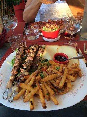 Vabres, France : Combinados gourmande