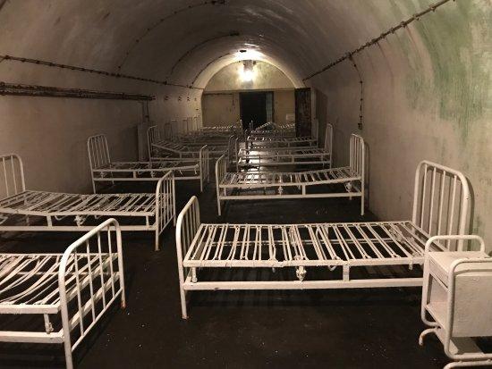 German Military Underground Hospital: Beds