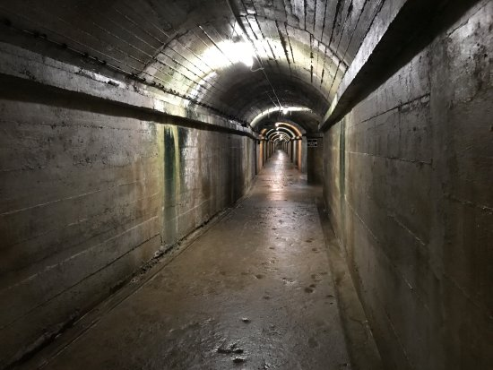 German Military Underground Hospital: tunnels