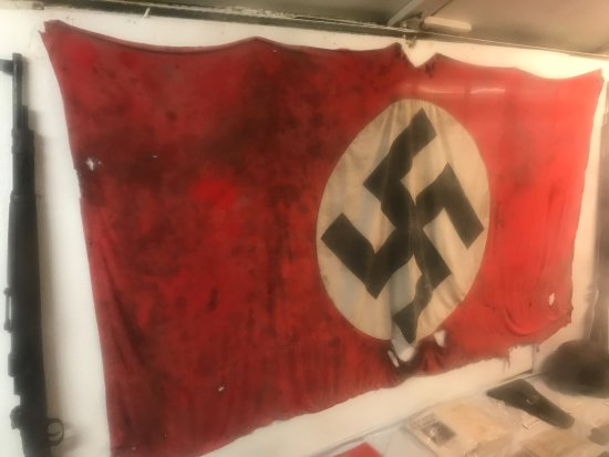 German Military Underground Hospital: flag