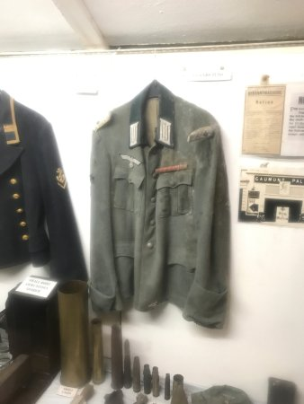 German Military Underground Hospital: uniform