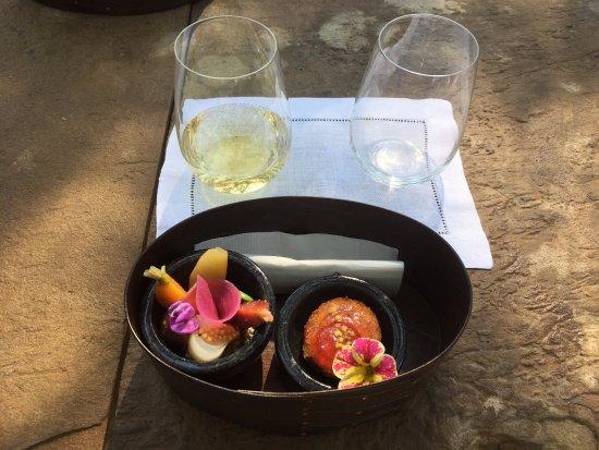 Healdsburg, CA: Chardonnay and food pairing