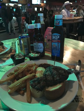 Ranchman's Cookhouse and Dancehall: Dinner