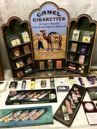 Mullins, SC: At the tobacco museum.