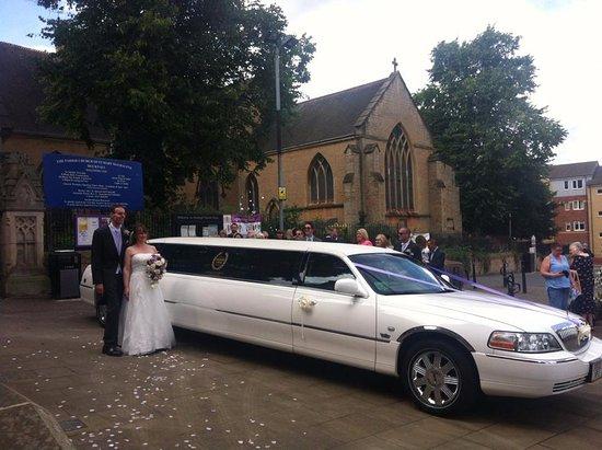Long Eaton, UK: Hucknal wedding day