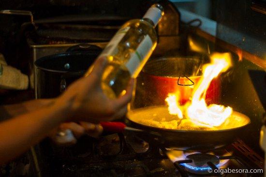 Tola, Никарагуа: chef tati! !