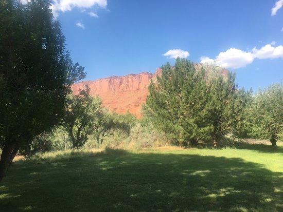 Ausblick vom Castle Valley Inn