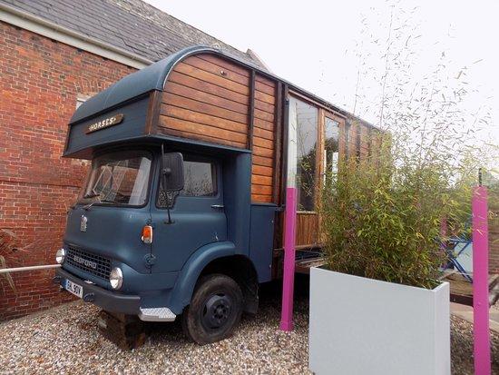 Sellack, UK: The Wagon