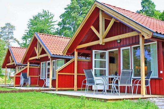 Horten, Norge: The high standard Leaf Cabins of Lovoya