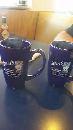 Wells, NV: love the coffee cups