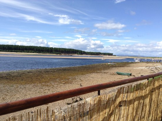Forres, UK: View from the outside terrace