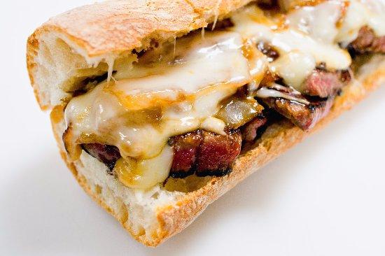 Swedesboro, Nueva Jersey: filet sandwich